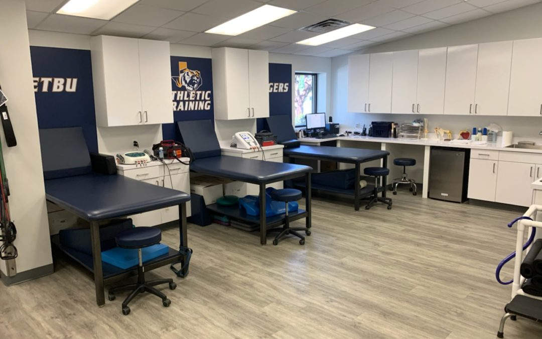 EAST TEXAS BAPTIST UNIVERSITY UPGRADES THEIR SPORTS MEDICINE DEPARTMENT